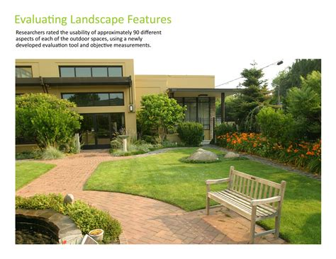 nursing home design concepts asla 2010 professional awards access to nature for older