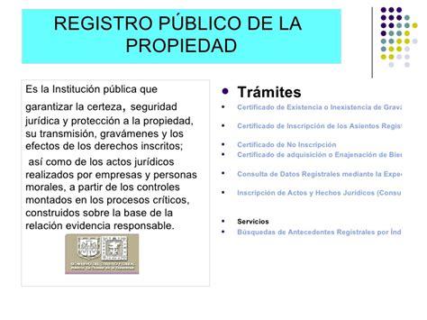 registro publico propiedad cd juarez vlex mxico planta industrial mexicana