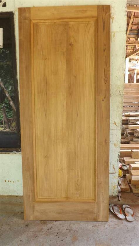 Pintu Jati Solid Kombinasi Kaca jual pintu minimalis kaca horizontal jati bersahabat duasahabat furniture