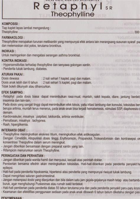 Obat Paratusin brosur obat asma dan obat batuk