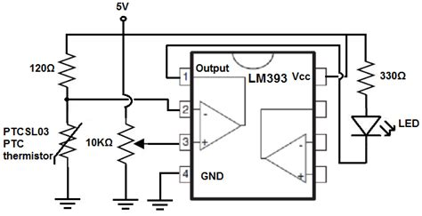 ptc resistor circuit how to build simple thermistor circuits
