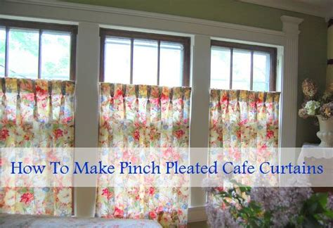 how to make pinch pleat draperies pinch pleats from my 1929 charmer window treatments