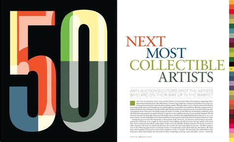 Art And Auction Magazine Magazine Design Type Eh Page 22