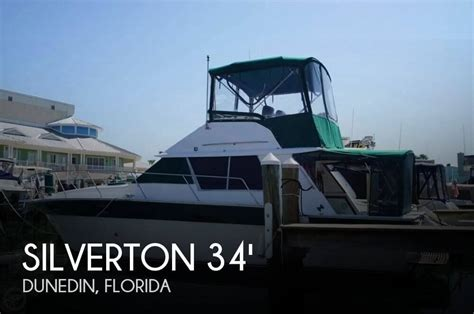 boat sales dunedin for sale used 1985 silverton 34 convertible in dunedin