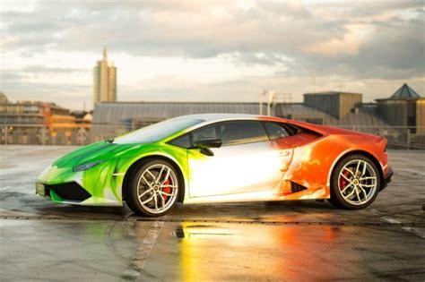 Lamborghini Italian Lamborghini Huracan With Italian Flag Tricolor Wrap Dpccars
