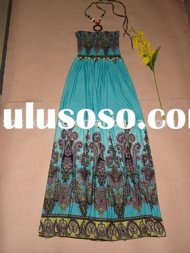 Bohemian Thailand Halter Dress maxi dress manufacturer in thailand maxi dress