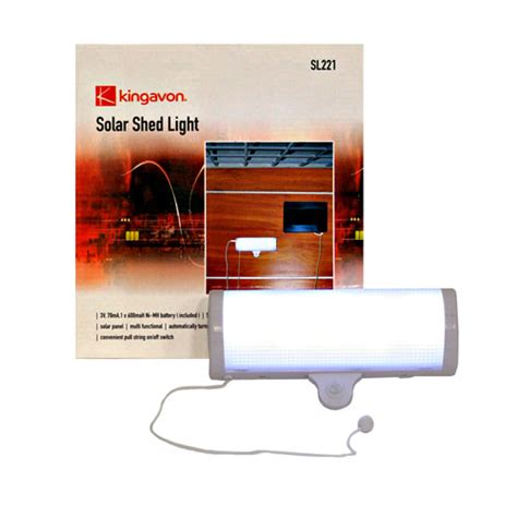 solar shed light with switch switchable led solar power shed greenhouse garage light ebay