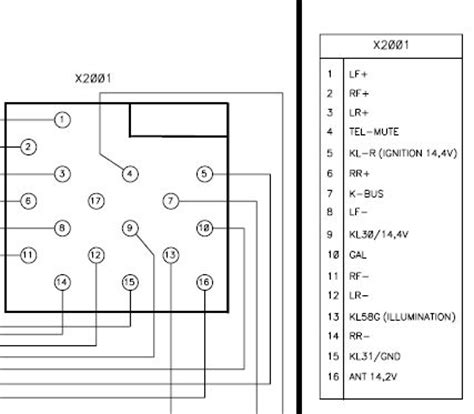 blaupunkt car radio stereo audio wiring diagram autoradio