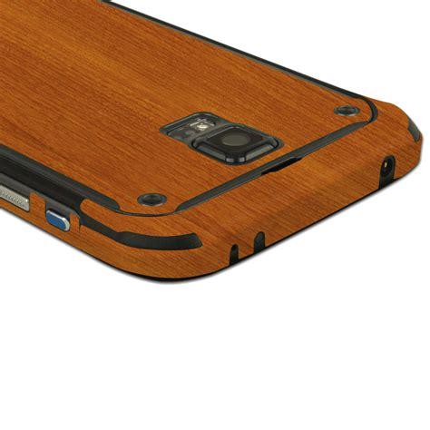 Custom Skin For Samsung Note 5 Wood Glossy Texture skinomi techskin samsung galaxy s5 active light wood skin protector