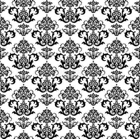 black and white seamless vintage wallpaper royalty free seamless black and white floral wallpaper pattern royalty