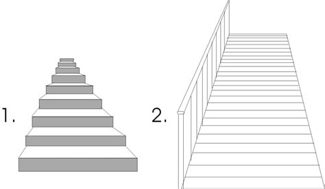 Treppen Zeichnen Lernen by How To Draw Stairs Better