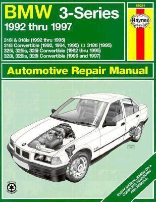car repair manuals download 1997 bmw 7 series head up display bmw 3 series 1992 thru 1997 automotive repair manual rent 9781563922503 1563922509