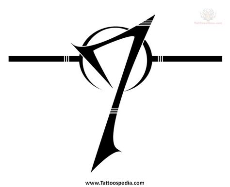 number 6 tattoo designs number 4 designs