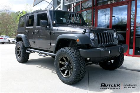 20 Wheels For Jeep Wrangler Jeep Wrangler With 20in Grid Offroad Gd5 Wheels