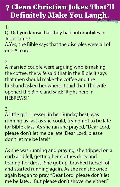 7 Lame Jokes That Make Me Laugh by 7 Clean Christian Jokes That Ll Definitely Make You Laugh