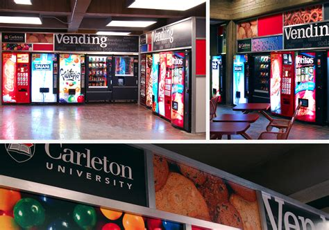 carleton university vending machine areas visionform
