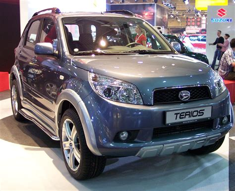 Terios Daihatsu Daihatsu Terios History Of Model Photo Gallery And List