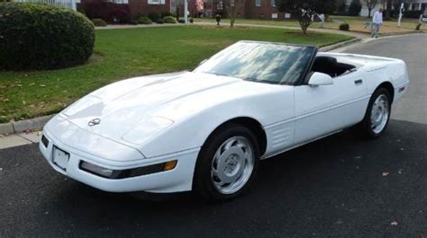 1991 white convertible 24 900 buy or sell classic buick reatta coupe or convertible 1991 corvette convertible 24k miles 6 speed like new corvette white black leathe classic
