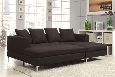 Contemporary Sectional Sofas With Chaise Chaise Sofa Sectional 3 Sectional Sofa With Reversible Chaise And Ottoman View Thesofa
