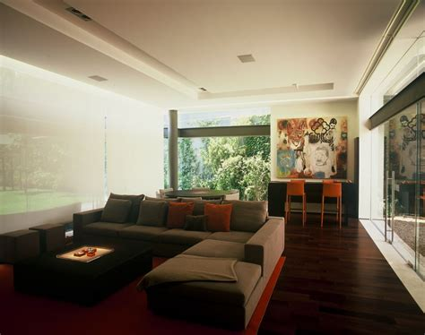 urban living room design modern uban house with limestone walls ba house digsdigs