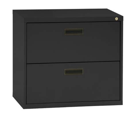 2 drawer file cabinet 27 height shopshop sandusky 400 black steel lateral file