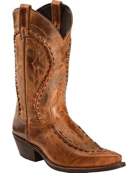 laredo s laramie western boots snip toe country