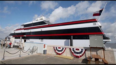 gambling boat in texas new casino cruise ship opens in galveston kvue