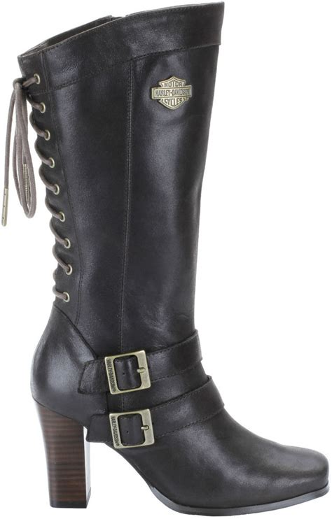new harley davidson womens boots d83681 shelia ebay
