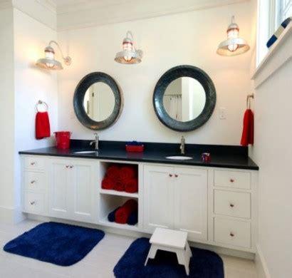 nautische badezimmer dekorieren ideen 37 nautische deko ideen steuerr 228 dern bis zu seesternen