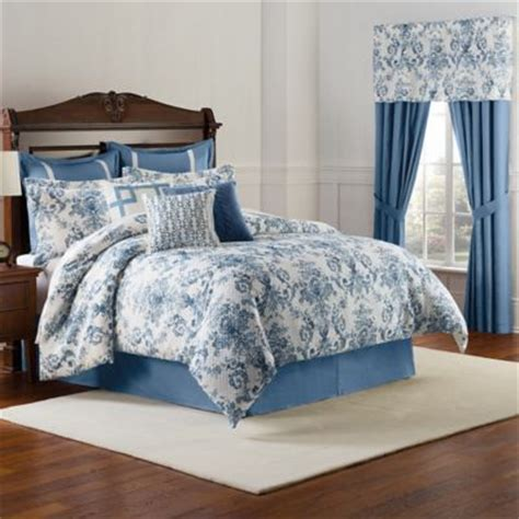 bed bath and beyond williamsburg williamsburg randolph comforter set in blue bed bath