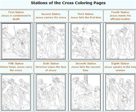coloring book pages stations of the cross stations of the cross celebrating holidays