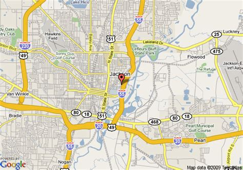 Mba Jackson Ms Directions by Map Of Best Western Executive Inn Jackson