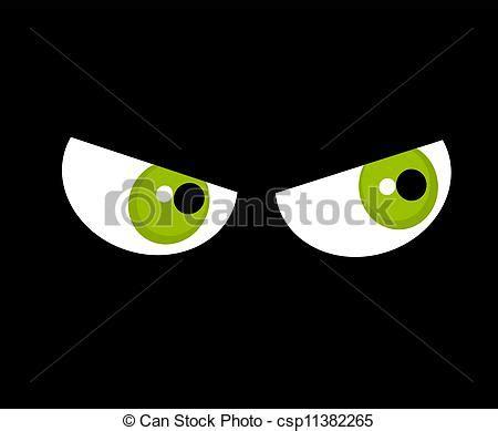 imagenes de ojos para halloween clip art de vectores de ojos oscuridad enojado verde