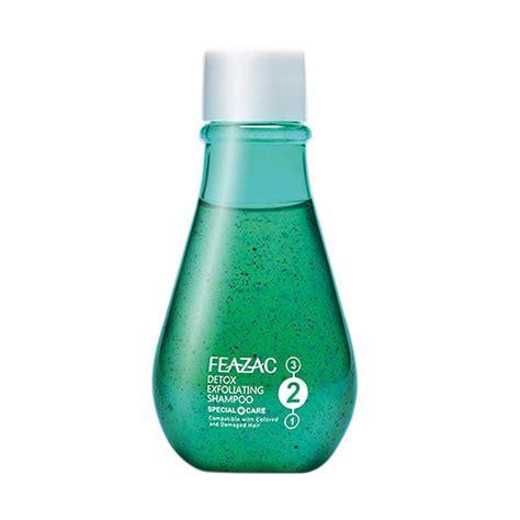 Harga Sho Pantene Untuk Rambut Diwarnai jual feazac scalp treatment detox exfoliating shoo