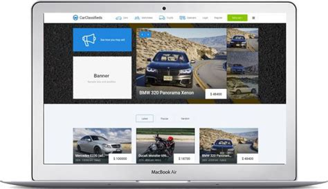 joomla car classified template download the template here