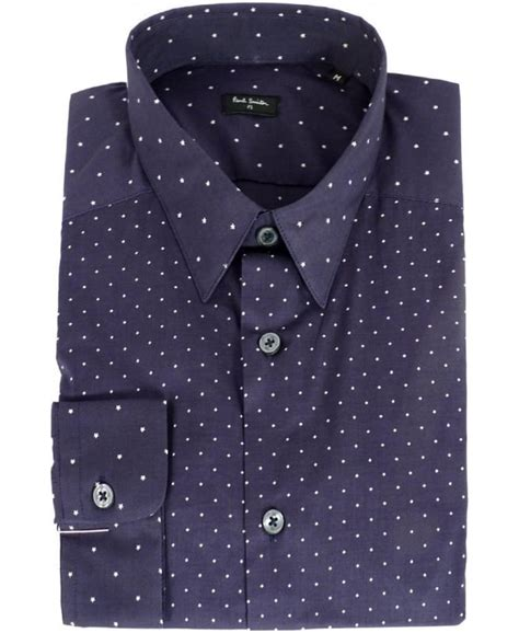 diamond pattern shirt name paul smith blue diamond star pattern shirt shirts from
