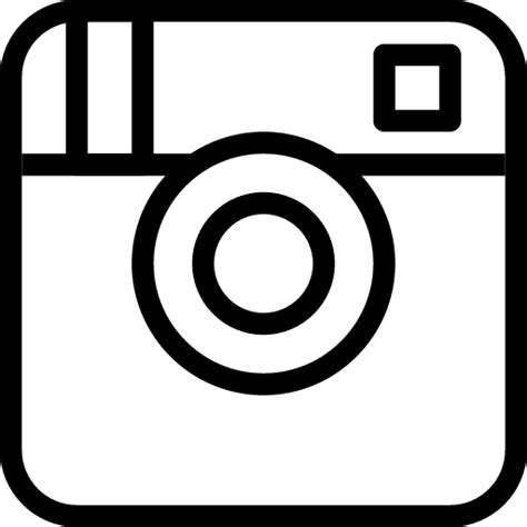 instagram logo coloring pages instagram icon line iconset iconsmind