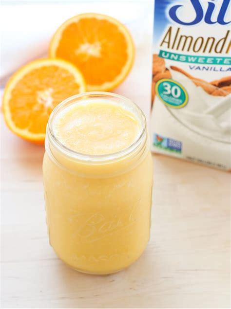 Vitamin Orange Cair fresh orange creamsicle smoothie thyme for health