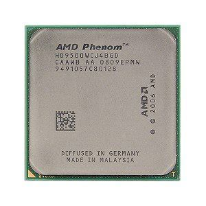 Processor Amd Phenom X4 9500 22 Ghz 1 amd phenom x4 9500 2 2ghz 4x512kb socket am2 cpu cpu only computers