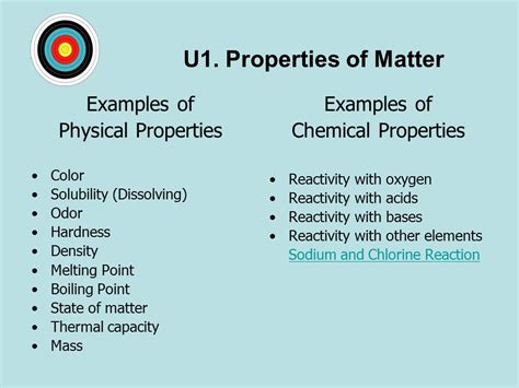 is color a physical or chemical property topic 1 1 matter change ei physical and chemical