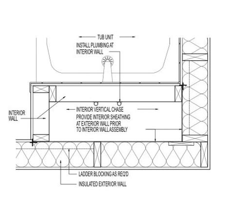 bathtub section dwg bathtub section drawing