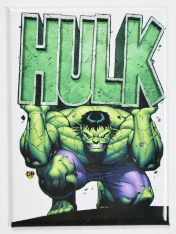 incredible hulk fridge magnet marvel comics bruce banner