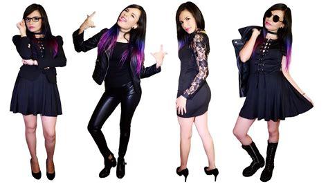imagenes moda rockera combina tu ropa rockera negra para diferentes ocasiones
