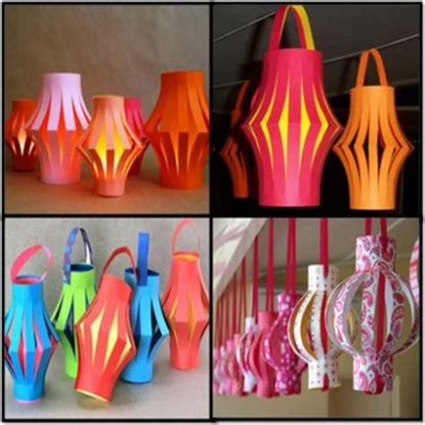 Paper Lantern Make - how to make paper lanterns hairstyles