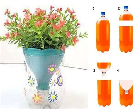 Make A Vase Into A L by 2liter Bottle Craft From A 2 Liter Bottle Make A