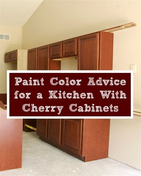 Paint Color Advice for a Kitchen With Cherry Cabinets