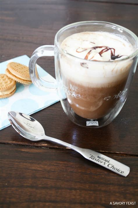 Homemade Iced Mocha With Instant Coffee   Crazy Homemade