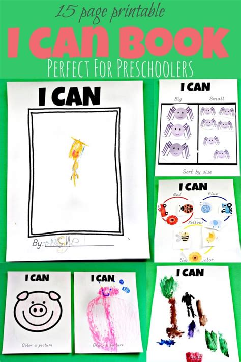 All About Me Book Preschool Printable