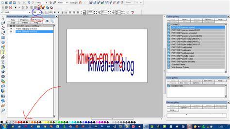 membuat video teks animasi belajar blog cara membuat teks animasi