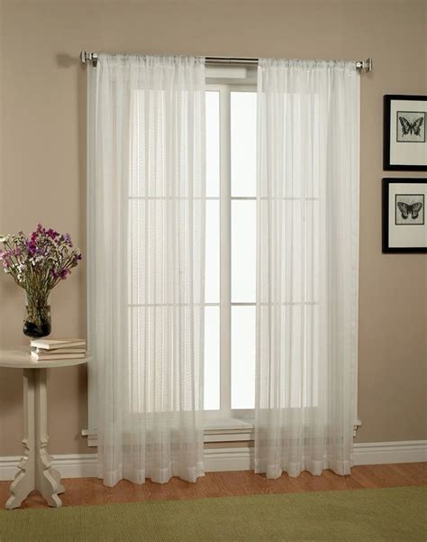 Privacy Sheer Curtains 19 Charming Sheer Curtain Privacy Designs